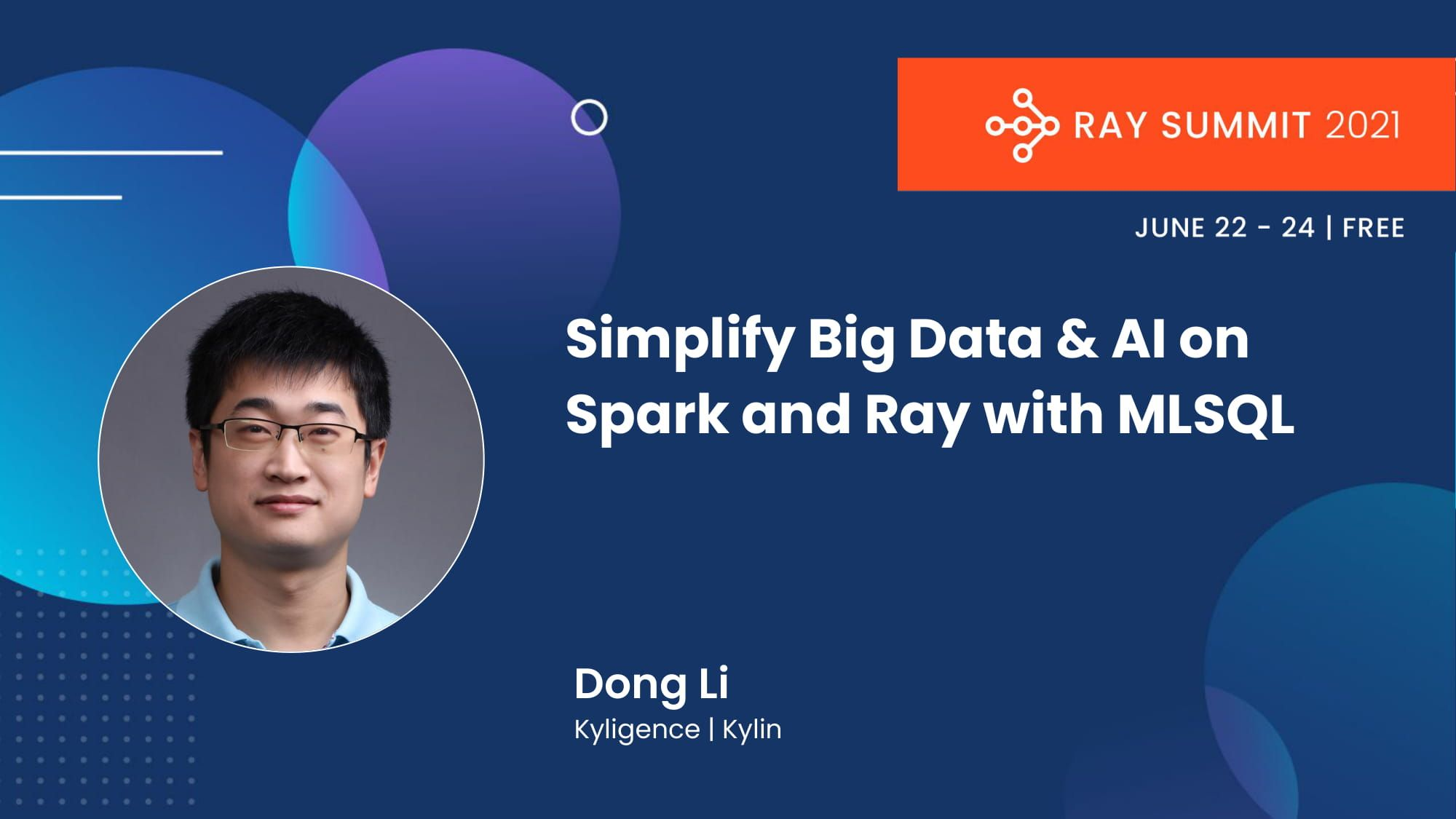 simplify big data and AI on spark and ray with mlsql