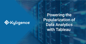 blog: Powering the Popularization of Data Analytics with Tableau