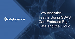 how analytics teams using ssas can embrace big data and the cloud